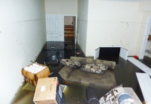 Flooded Room in San Diego